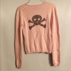 Sweaters - Cashmere skull sweater